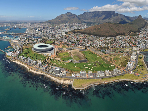 Cape town city in South Africa