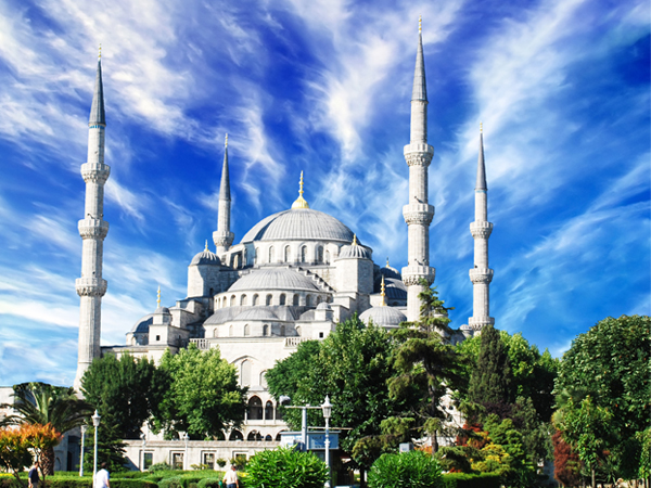 Sultan Ahmed Mosque in Turkey